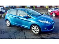 FORD FIESTA 1.2 2009 BLUE MANUAL 5DR **NEW SHAPE**EXCELLENT CONDITION**
