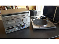 Vintage JVC Separates £50 OVNO (Turntable Not Included Damaged)
