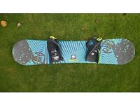 Childs 120cm snow board, generally for age 7 - 11