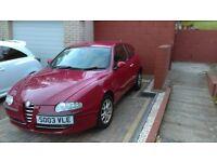 Alpha Romeo 147 lusso 1.6 petrol