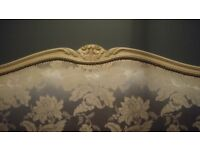 Beautiful Vintage French Cradle Bed