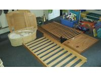 Moses Basket and Cot bed job lot