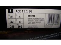 adidas ACE15.1,sg boot ball boot in size 8