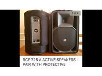 RCF dj speakers