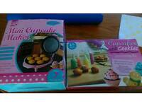 Cupcake maker and decorating kit