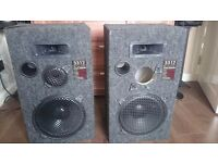Large speakers in good working condition. Grab a bargain!