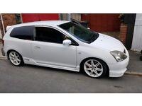 Honda civic type r ep3...low milage!!