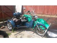 UNIQUE *FIAT 126 650cc ENGINE* CUSTOM TRIKE Road Legal