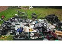 Job lot pit bike parts