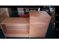 Retail Shop Counter / display cabinet for sale. Belfast.