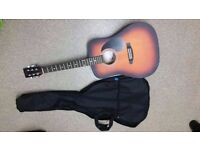 Brand New Guitar - Complete with carry case, spare strings, tutorial dvd etc