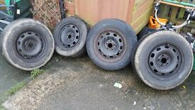 "14"" steel wheels from Golf MK4 *FREE*"