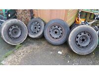 """14"""" steel wheels from Golf MK4 *FREE*"""