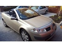 Renault Megane 1.9 disel convertible , one year MOT with low miles