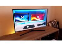 """Samsung 32"""" Led Full Hd 1080p tv Freeview hdmi usb Fully Boxed"""