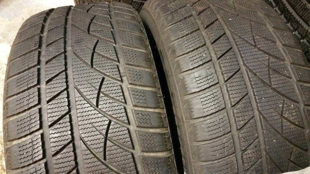 225 50 17 2 x tyres Evergreen Winter EW66