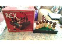 Board game, Rex strategy game.