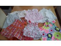Baby girl summer dresses 0-3months.