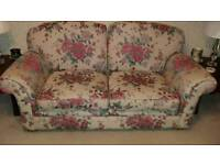 Large 2 seater and matching armchair