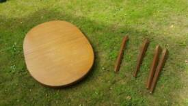 Dining table and chairs- Free to collect