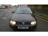 2003 VW GOLF GT TDI 1.9 goes like the wind NEW MOT 3DR, NEW CLUTCH KIT, just serviced, new handbrake