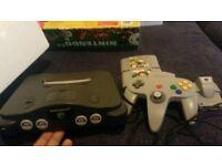 Nintendo 64 boxed