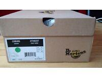 Dr Martens Leather Coburg Gaucho Crazy Horse Boot UK10 Light Brown Minimal Use w/ Original Box