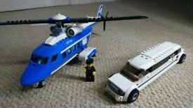 Lego Helicopter & Limousine (Model 3222)