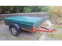 Single axle car trailers