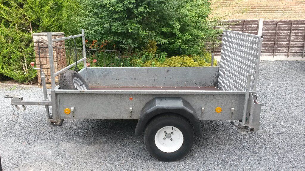 FOR SALE - IFOR WILLIAMS CAR TRAILER