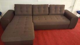 Ex display corner sofa APR £900. Grab this offer