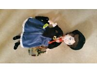 Disney Mary Poppins soft doll , exellant conidition
