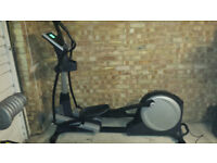Nordic Track E10 Rear Drive Foldable Elliptical Cross Trainer with Powered Ramp
