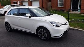 MG MG3 VTi White low emissions low tax and insurance. Great car!