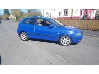 Seat ibiza 1.9tdi relisted due timewaister not vw audi ford fiat bmw vauxhall