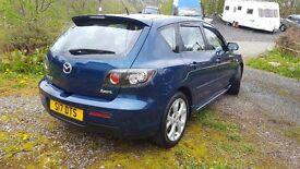 Mazda 3 sport 2 0l 2007, MOT till 04/2018