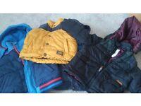Aged 3-4 kids winter coat bundel including a ben sherman coat