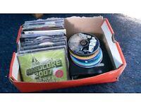 Bundle of cds used.