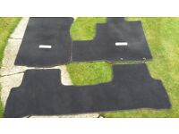 Honda GENUINE CR- v Interior Carpet Set- 4 piece. 2006 - 2012 Manual Gearbox All Models