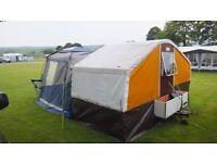Trailer tent 1970s Retro needs to go so make me an offer