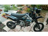 road legal 160cc pitbike registerd as 50cc