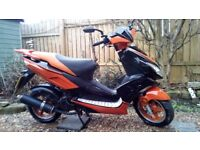 Direct Bikes Viper 49cc Moped - 1st MOT Due 1st March 2019
