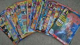 Bundle of Star Wars magazines from 1999 & 2000