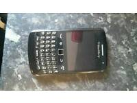 Blackberry curve and a Samsung ace