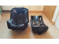 Joie Gemm car seat with i-base £70 only very good condition!!!