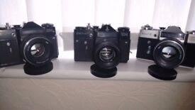 Non-digital SLR cameras