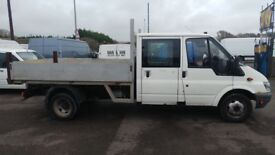 FORD TRANSIT TIPPER 2006 JUST HAD NEW ENGINE FITTED WITH 87K MOT JUNE 1 2018