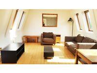 2 Double Bed - Camden Town - Roof Terrace - Living Room & Kitchen