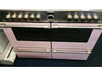 Stoves pink range cooker for sale. Free local delivery