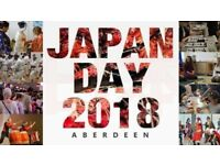 VOLUNTEERS WANTED for an exciting event on 8th/9th September, Cults Academy: JAPAN DAY ABERDEEN 2018